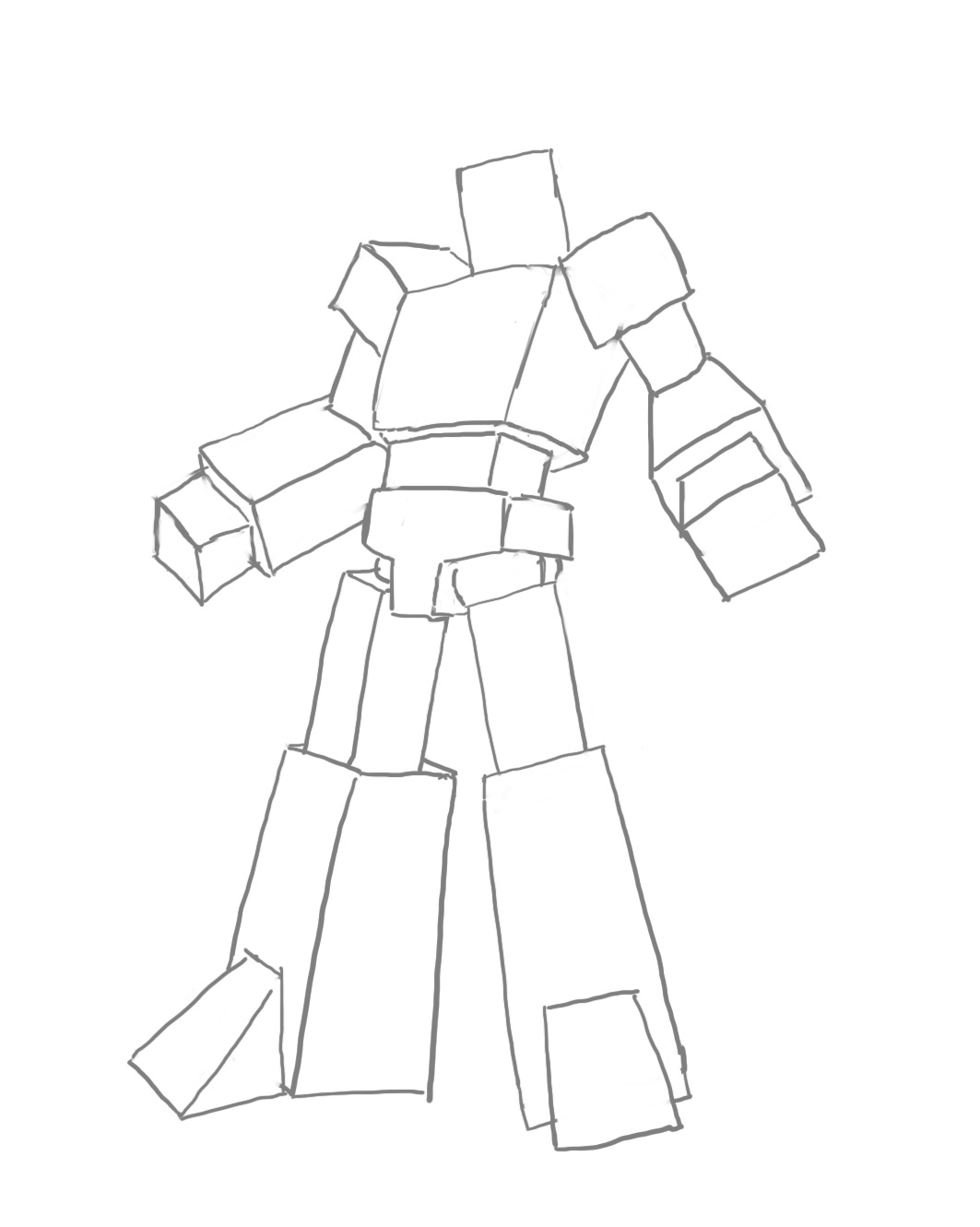 1063x1331 Transformer Sketch Pose By Danixhap