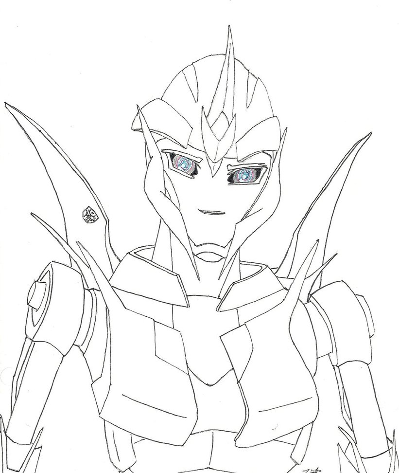 821x972 Transformers Prime Arcee By Mightwork15