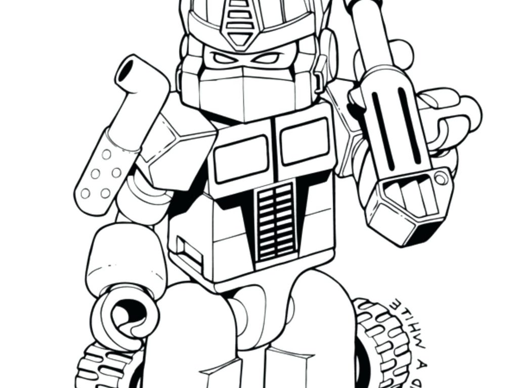 1024x768 Coloring Page ~ Bumblebee Coloring Page Transformers Pages