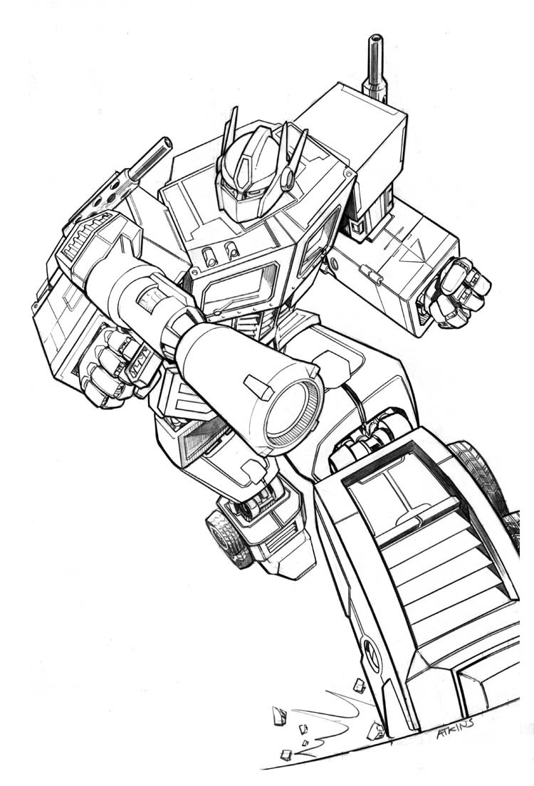 750x1104 Transformers Comic Drawings
