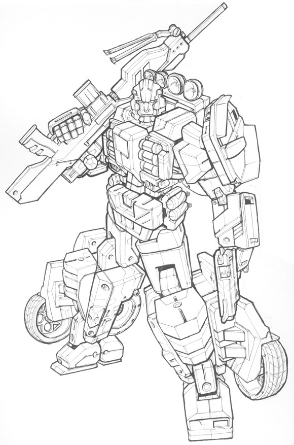 580x877 Img] Transformers Drawings And Illustrations