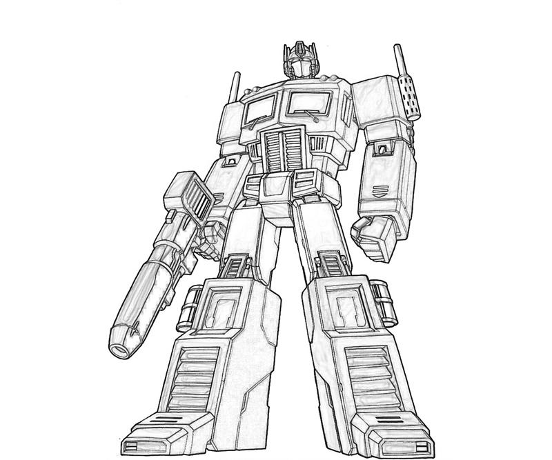 800x667 Optimus Prime Coloring Book Transformers Optimus Prime