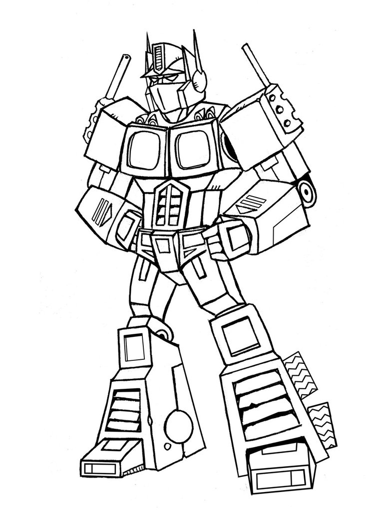 767x1042 Optimus Prime Lines By Memorypalace