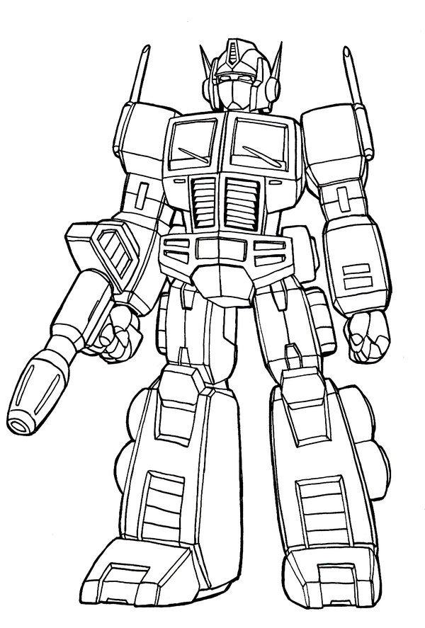 600x887 Optimus Prime Lineart By Nakoshinobi