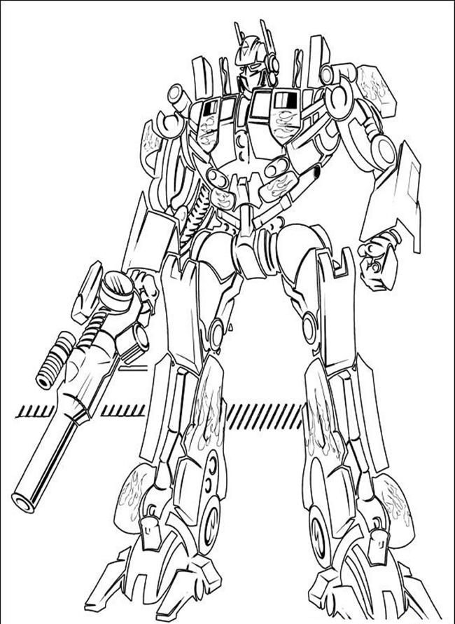 650x890 Optimus Prime Pictures To Color Optimus Prime Coloring Pages