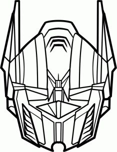 234x302 How To Draw Optimus Prime From Transformers Step 1 Drawing