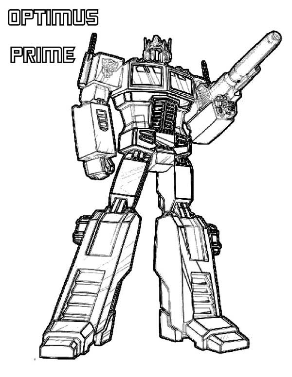 600x776 Transformers Coloring Pages Optimus Prime