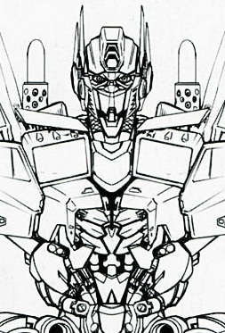253x373 More Design Drawings Of Movie Optimus Prime And Bumblebee Poseable