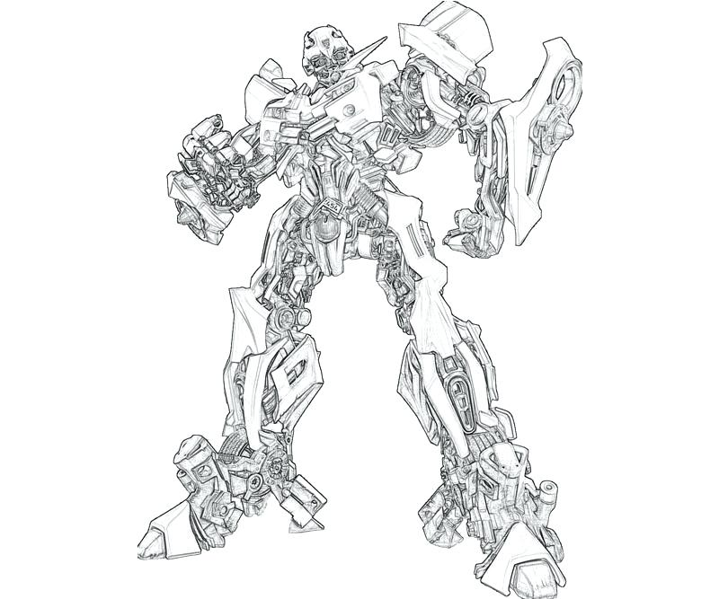 800x667 Transformers Bumblebee Coloring Page Transformer