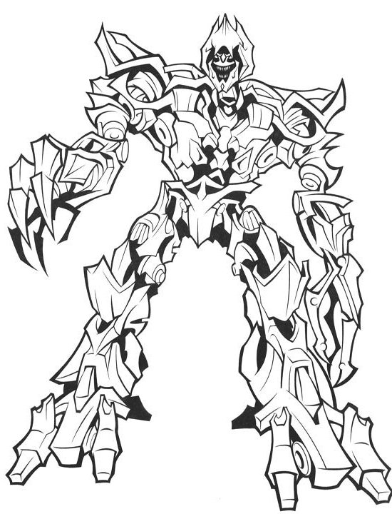 Transformers 4 Drawing At Getdrawings Com Free For