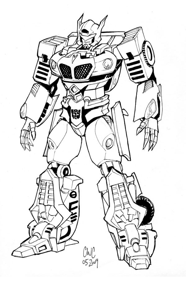 transformers cartoon drawing at getdrawings com