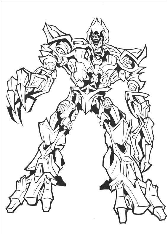 megatron transformers coloring pages   Transformers Cartoon Drawing at GetDrawings.com   Free for ...