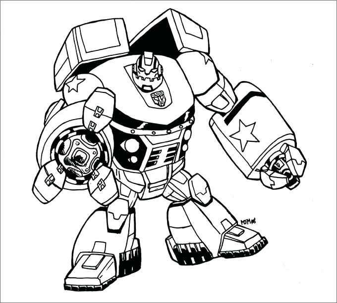 Transformers Cartoon Drawing at