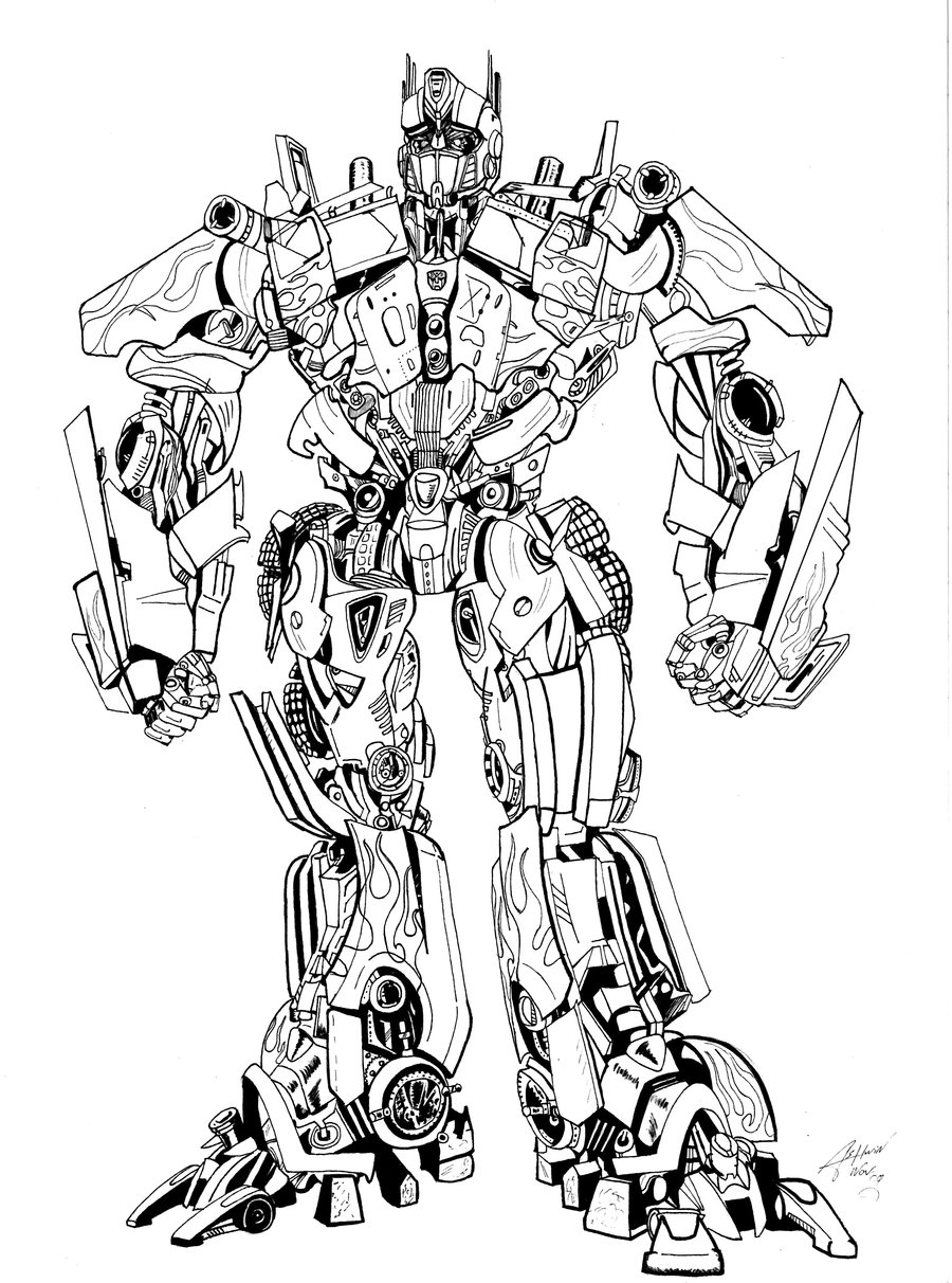 900x1212 Nice Ideas Optimus Prime Coloring Pages Transformers Drawing