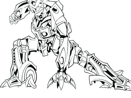 440x330 Optimus Prime Printable Coloring Pages Free Transformers Coloring