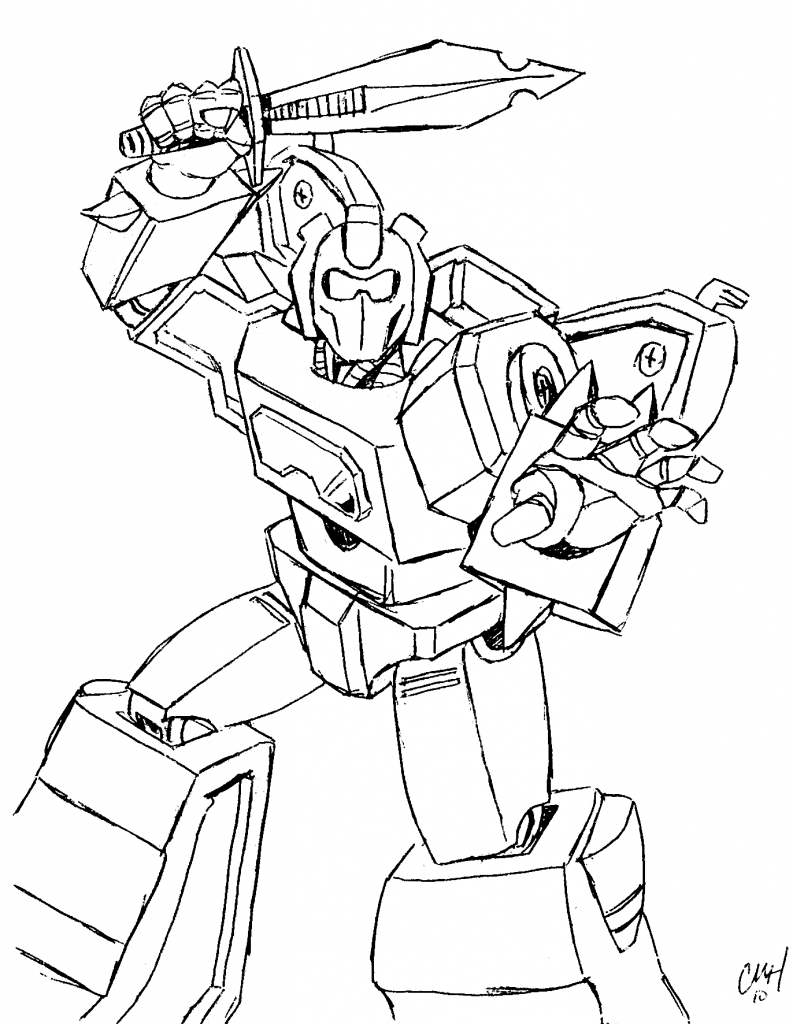 793x1024 Transformer Coloring Pages Ironhide Transformers And Drawing Adult