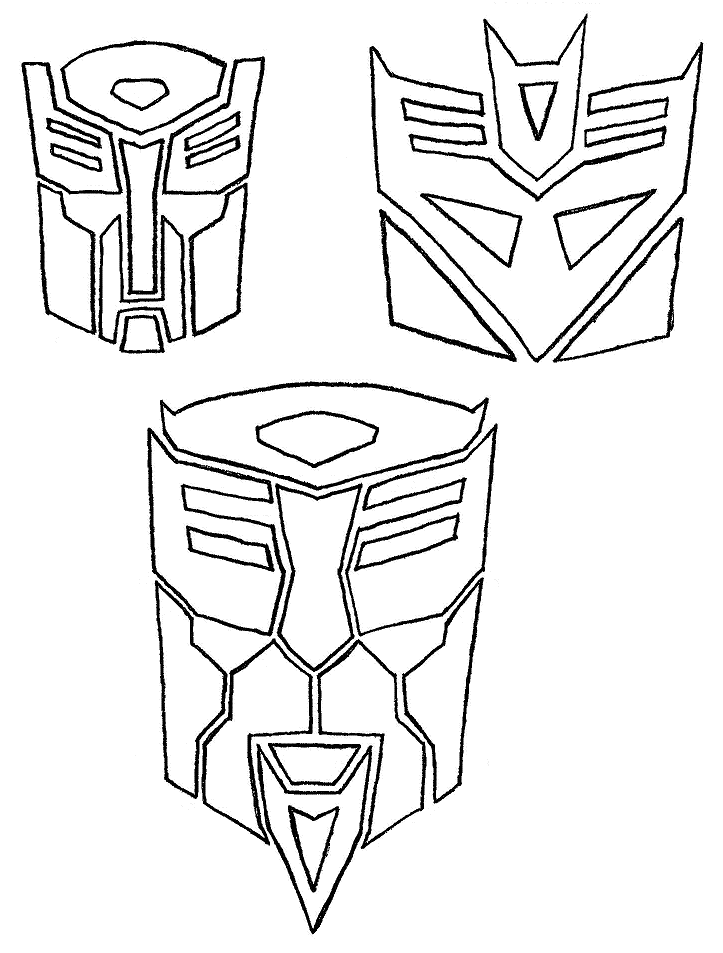 723x953 Transformers Insignias By Sonikku Otaku