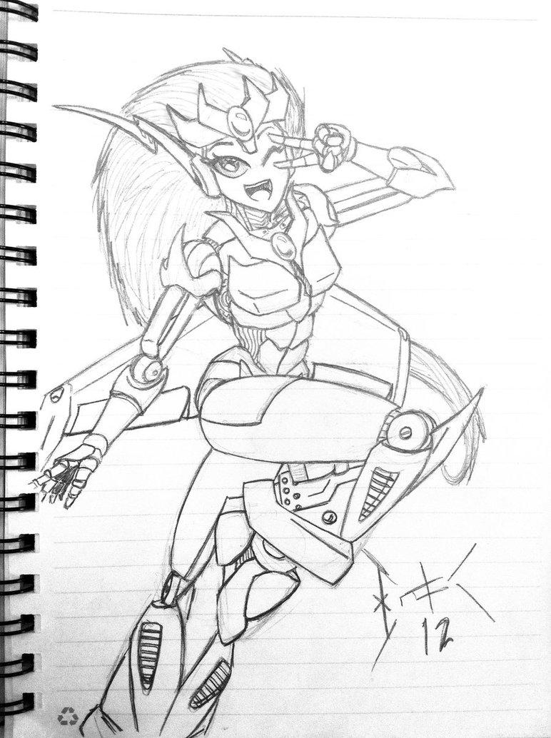 772x1034 Transformers Oc Amber By Wulongti