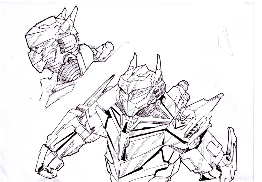900x627 Transformers Sketch By Mravenger