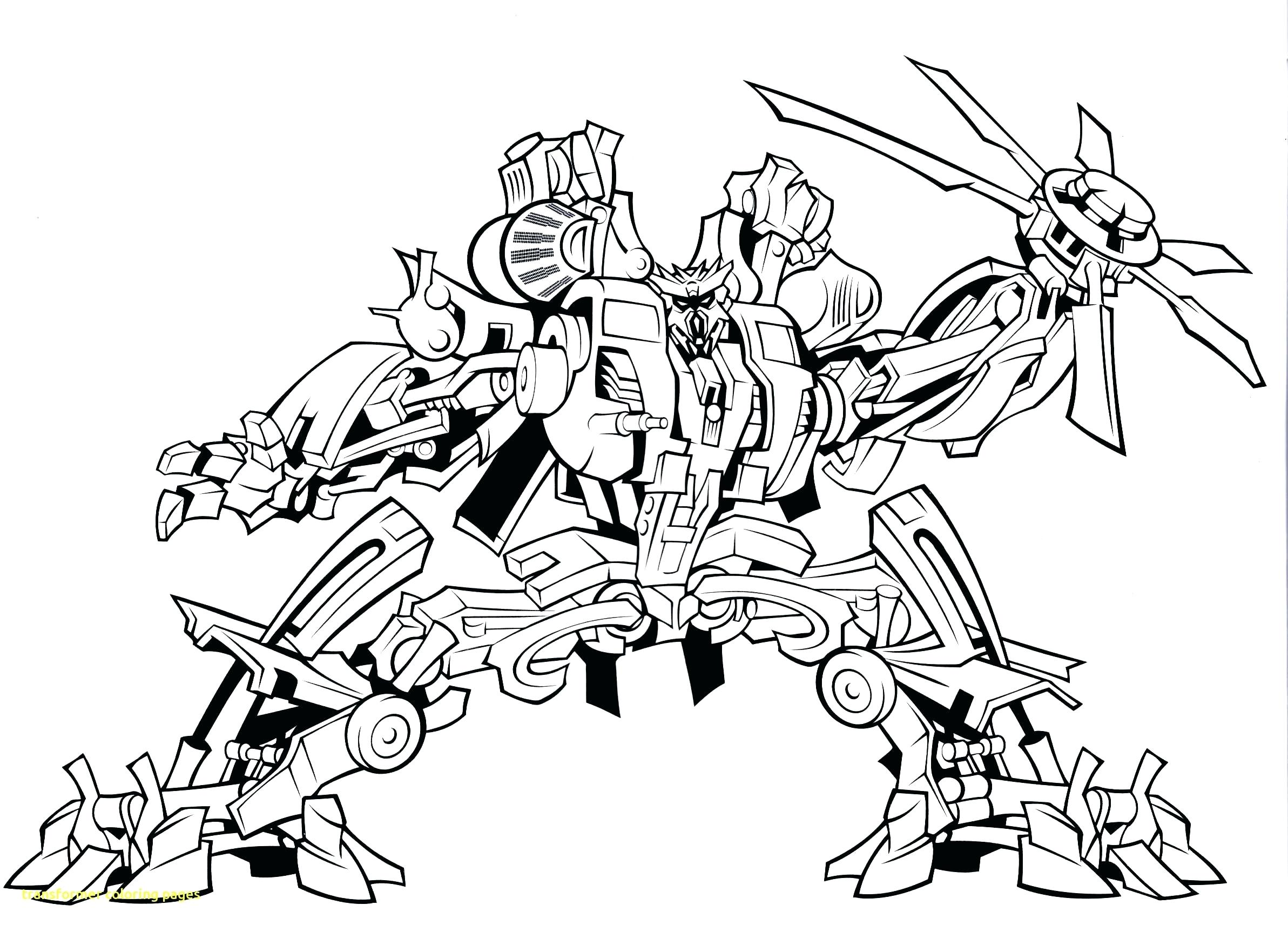 2385x1712 Coloring Transformers Bumblebee Coloring Page