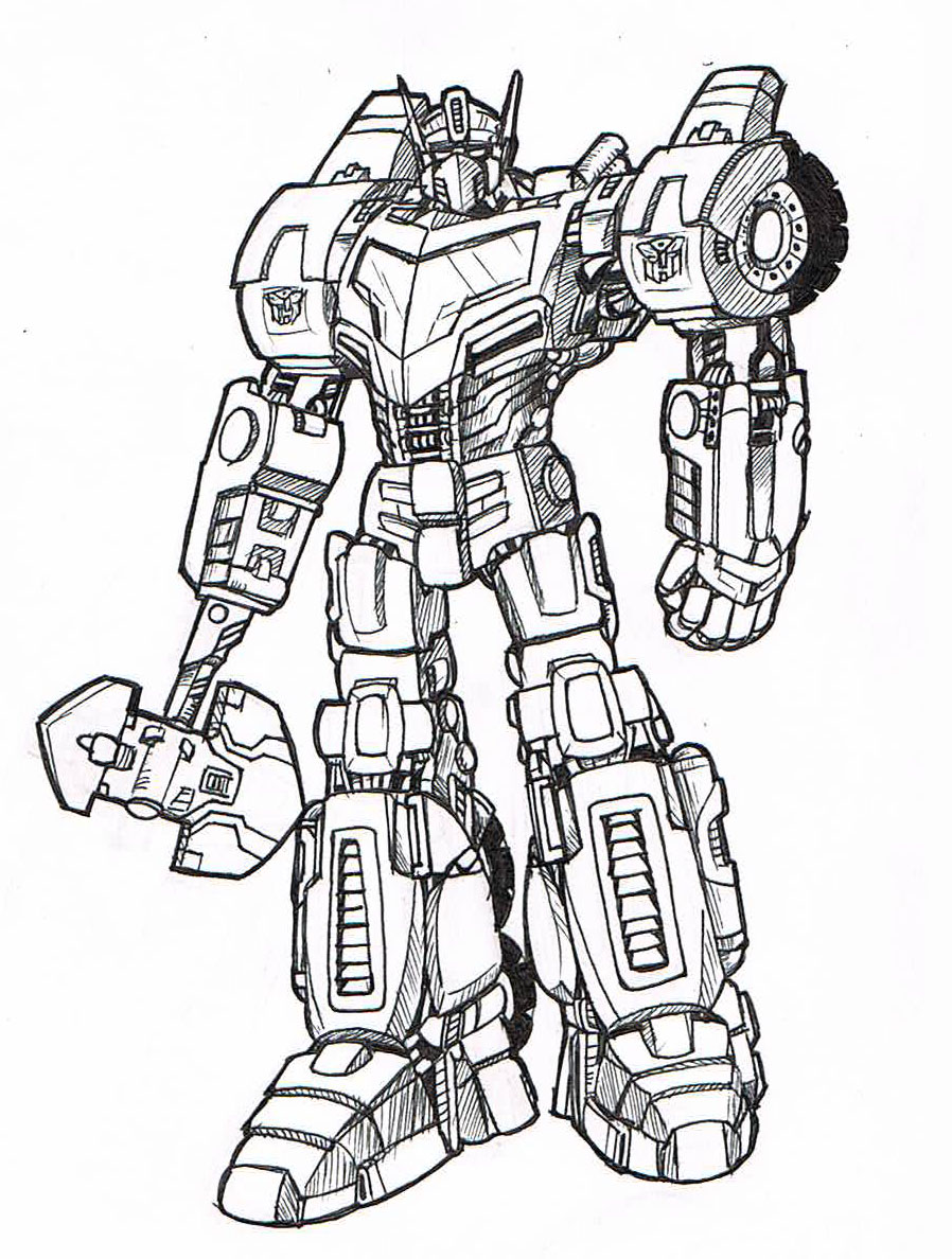 898x1188 Optimus Prime Redesign By Geekyanimator
