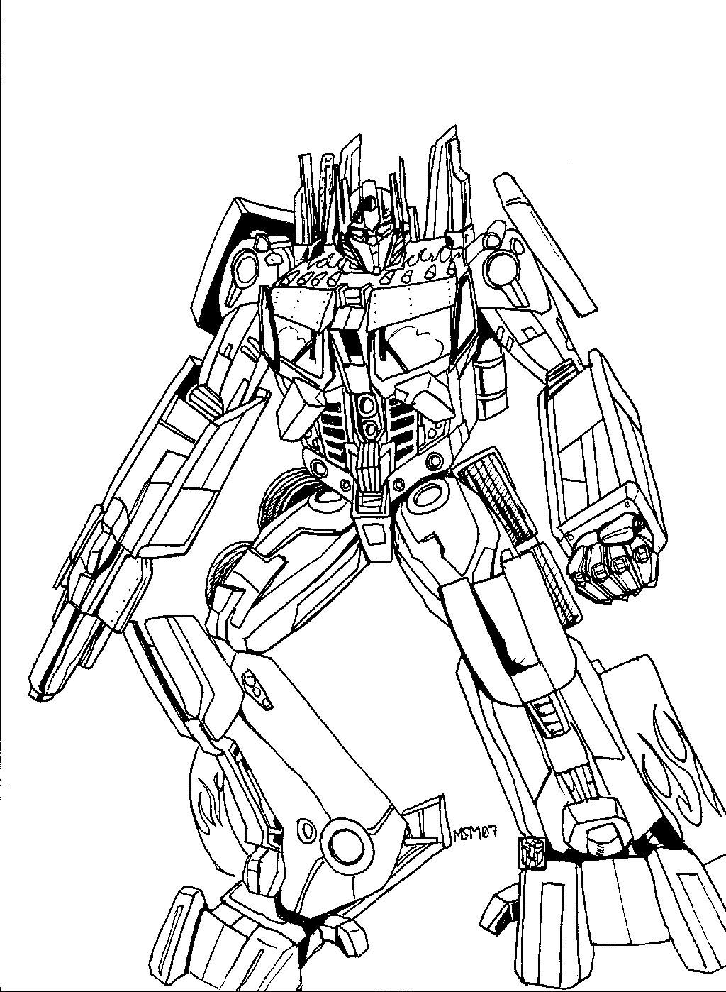 Transformers Optimus Prime Drawing at GetDrawings | Free ...