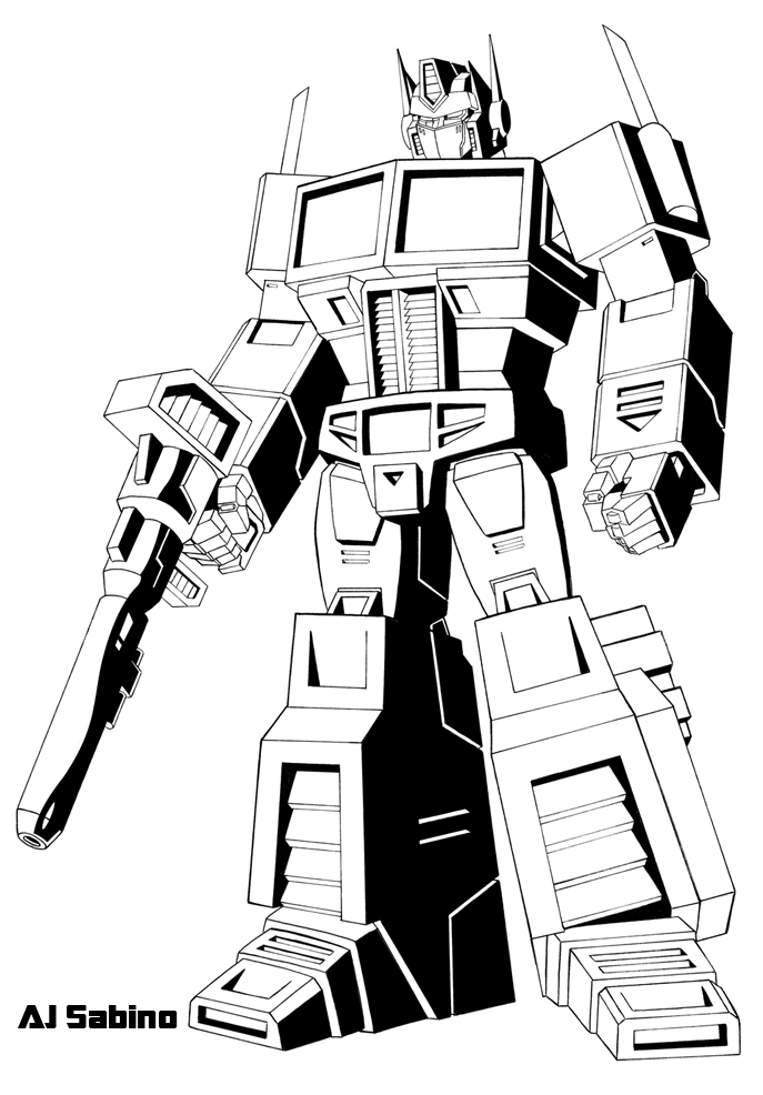 687x986 G1 Optimus Prime By Ajsabino