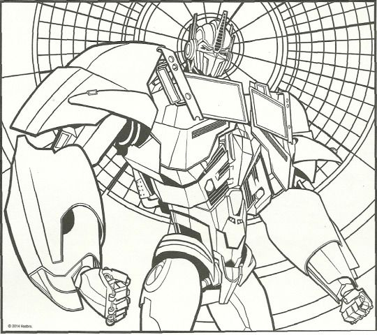 Transformers Prime Drawing