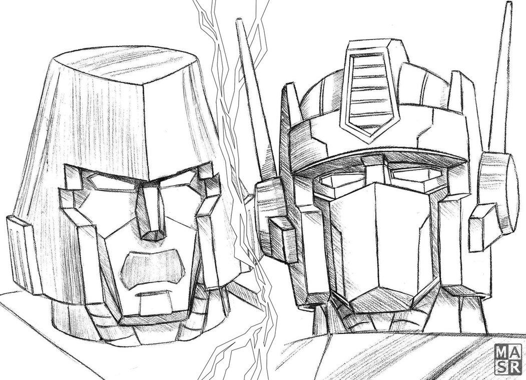 Transformers Prime Drawing at GetDrawings | Free download