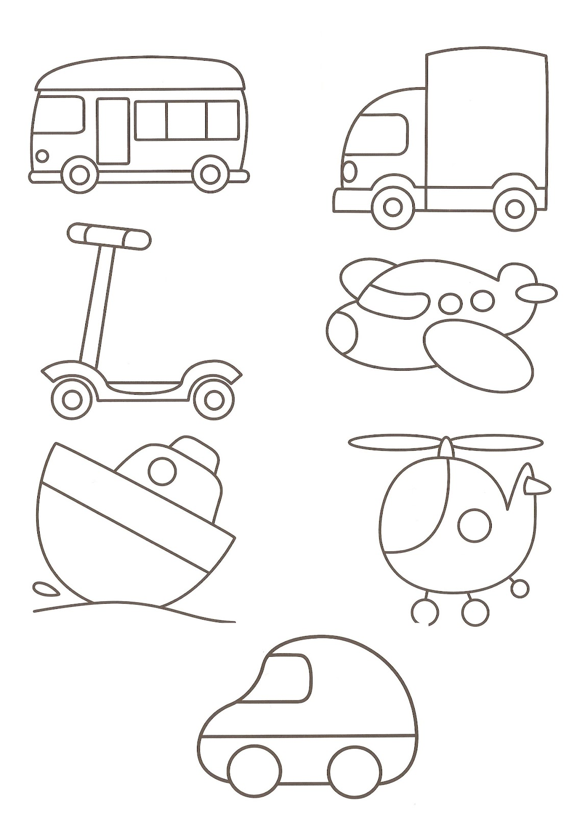 1131x1600 Police Car Transportation Coloring Pages For Kids, Printable Free