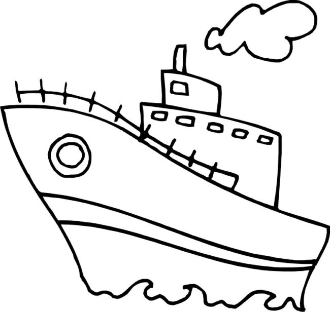 650x616 Water Transport Coloring Pages 4 Nice Coloring Pages For Kids