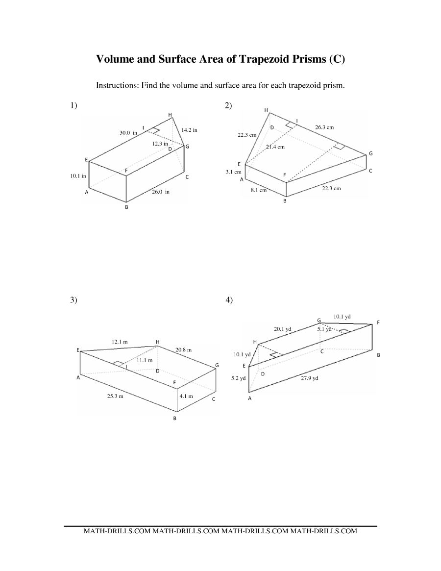 900x1165 Volume And Surface Area Of Trapezoid Prisms