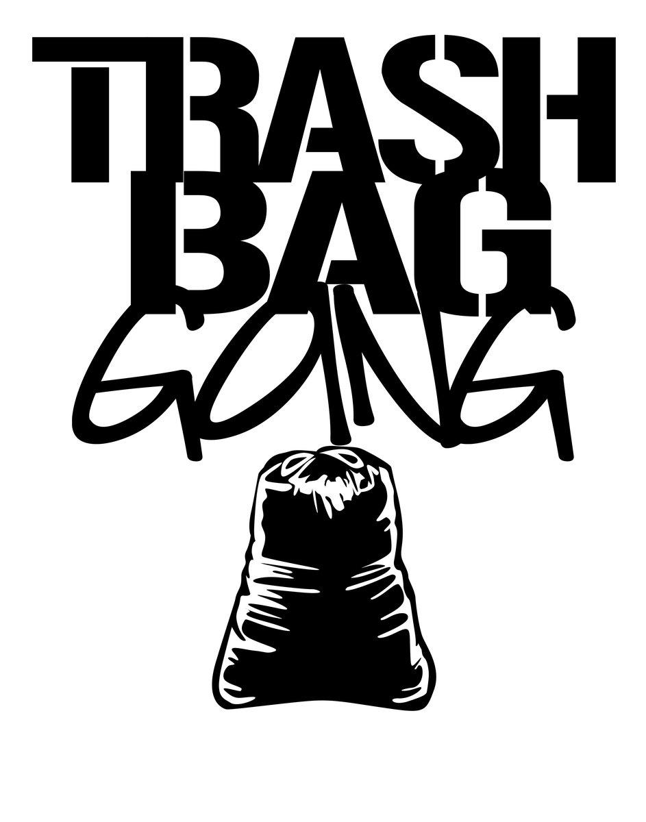 943x1200 Music Trash Bag Gang
