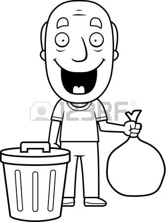 336x450 Taking Out The Trash Stock Photos. Royalty Free Business Images