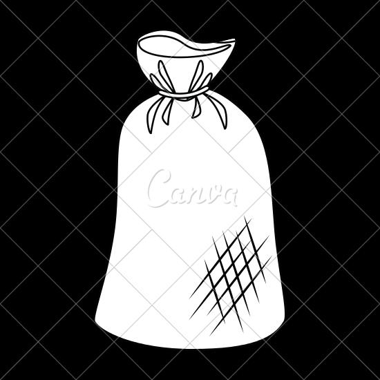 550x550 Trash Bag Icon