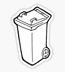 210x230 Garbage Bin Drawing Gifts Amp Merchandise Redbubble