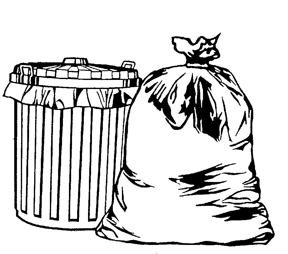 Trash Can Drawing