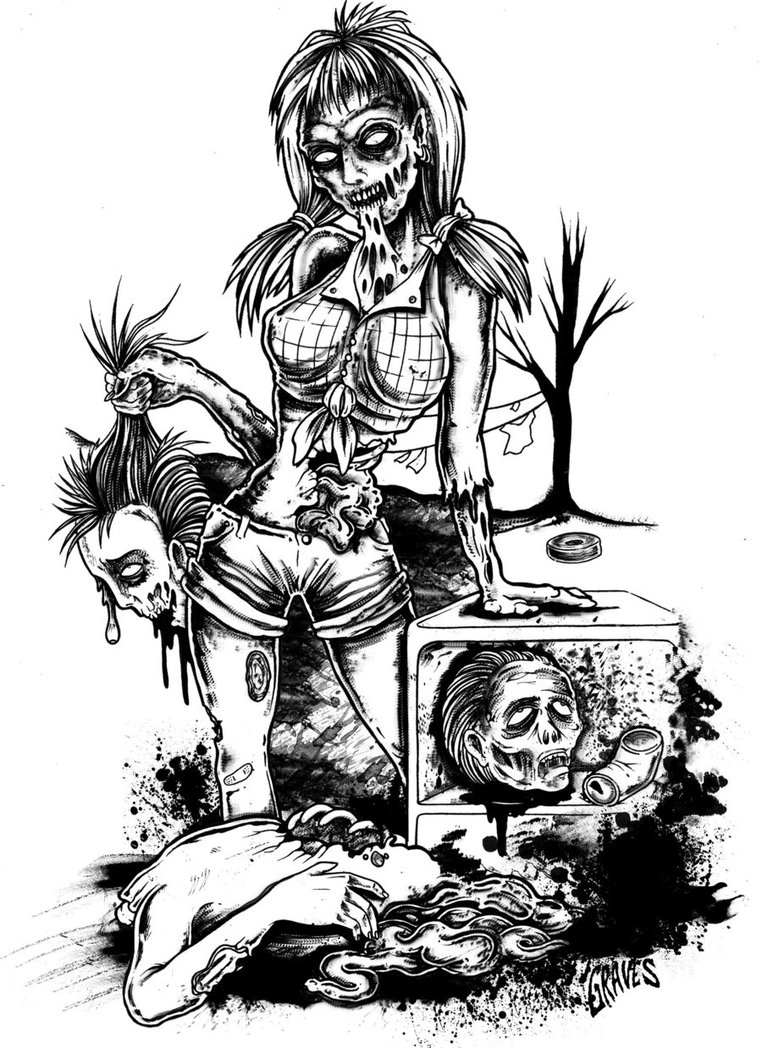 762x1048 Hillbilly Undead Trash By Allangraves
