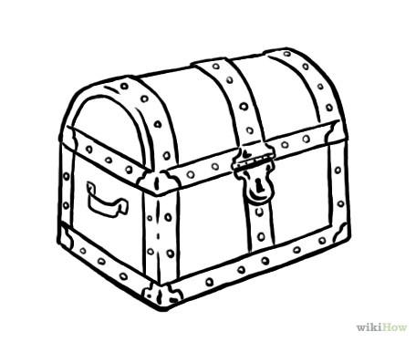 treasure box drawing at getdrawings com free for personal use