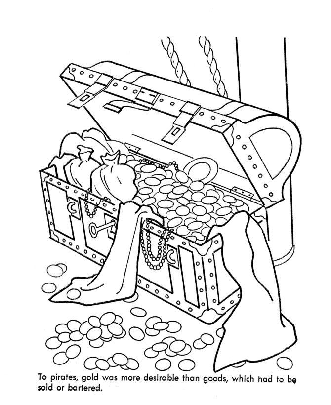 Treasure Chest Drawing at GetDrawings.com | Free for personal use ...