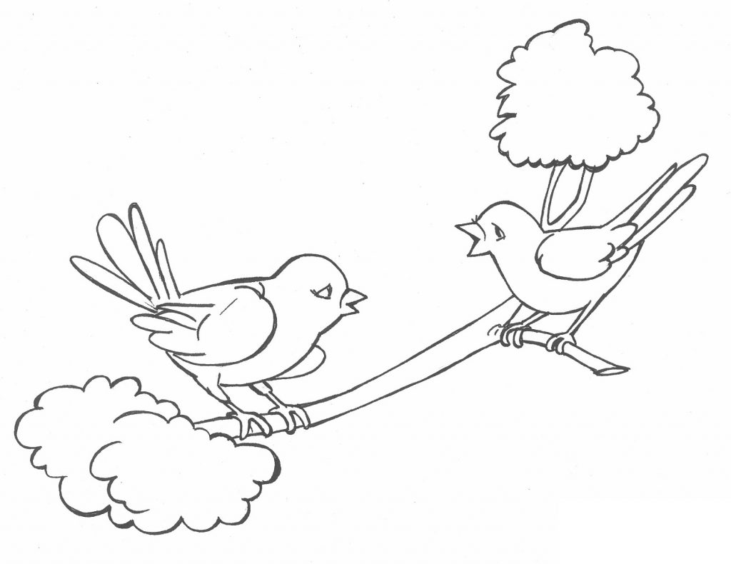1024x790 Birds Drawing For Kids