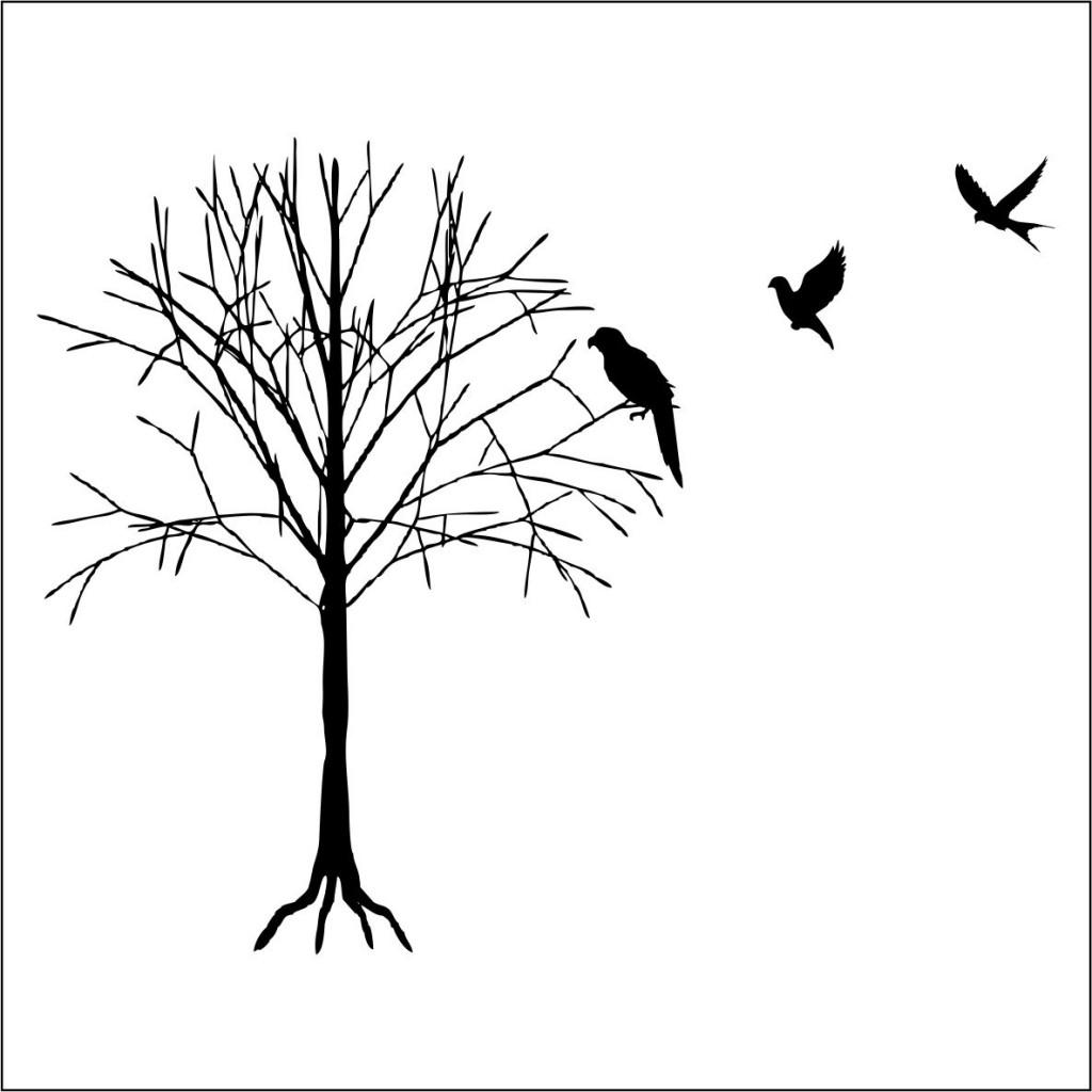 1024x1024 Line Drawings Of Birds