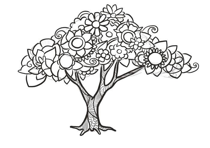 700x494 How To Draw Doodle Art Tree Freelancer Blog