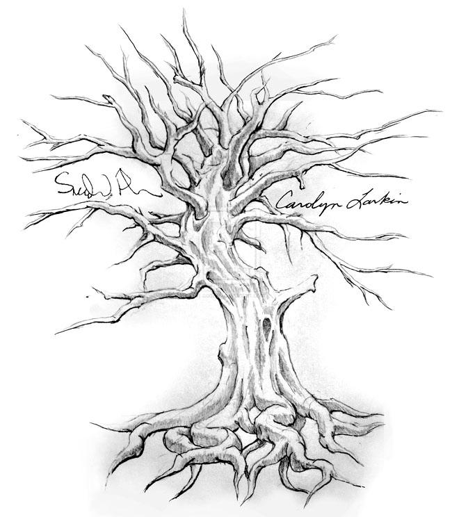 660x744 Tree Drawing 23 Tree Drawing Tattoo By Aod215