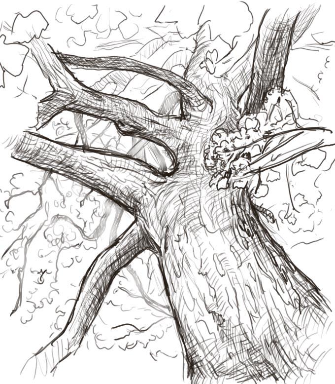 680x778 The Creative Think Machine Tree Studies