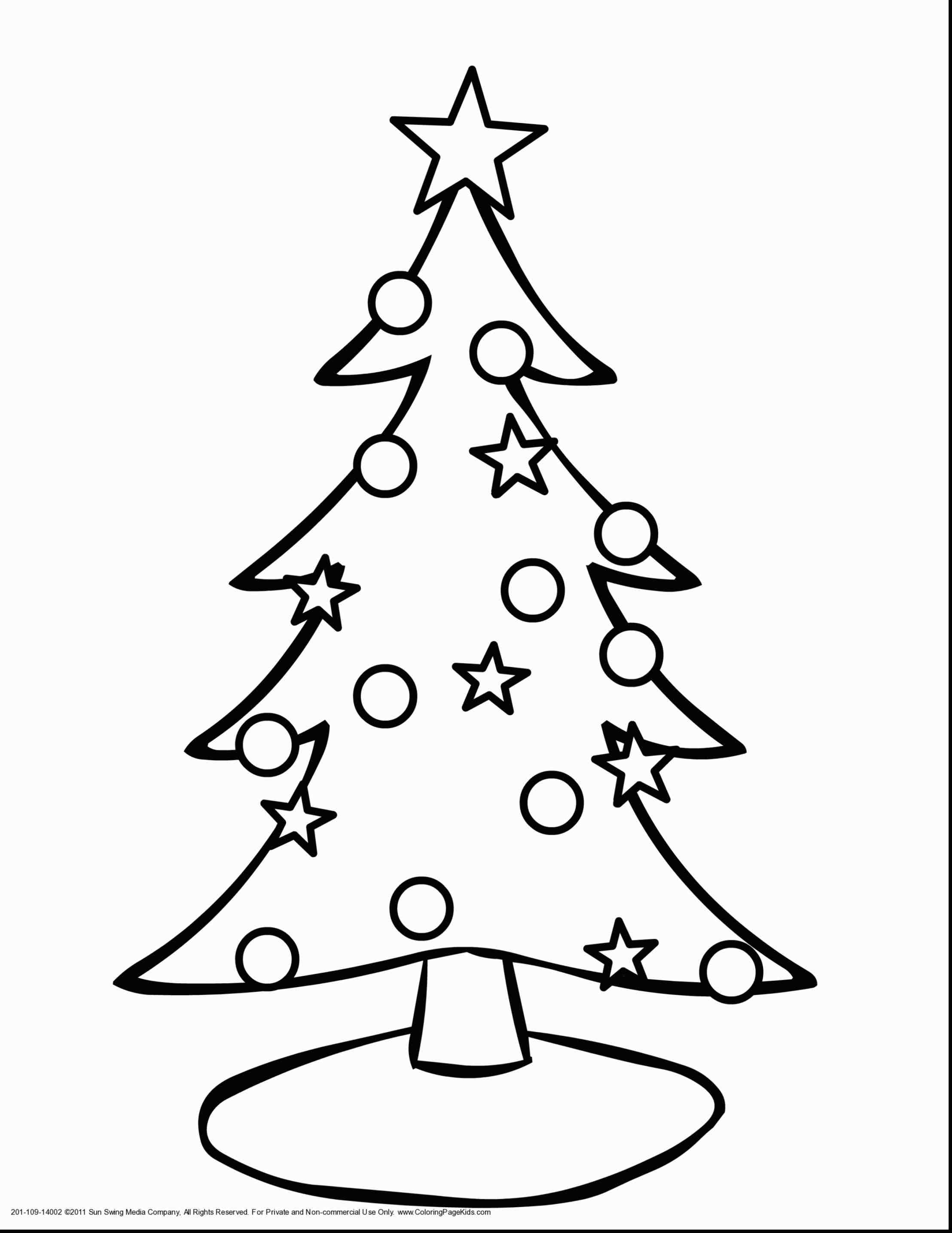 2216x2868 Cute Christmas Tree Drawing