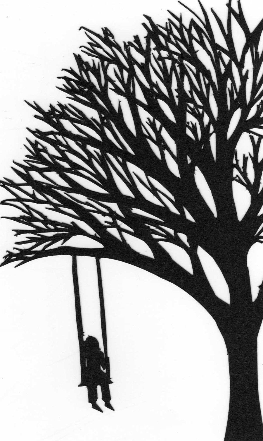 900x1507 Paper Cut Out Tree by Kat2805 on DeviantArt