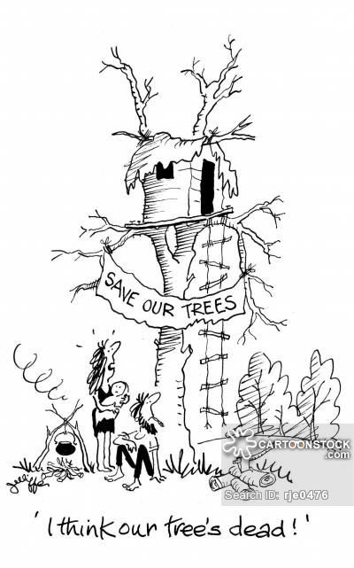 400x641 Save The Trees Cartoons and Comics