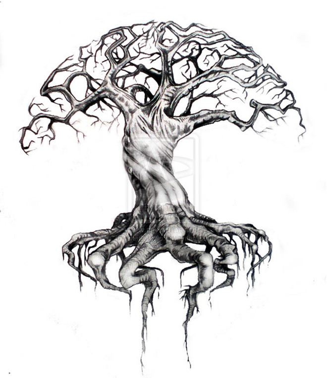 Tree Drawing Art