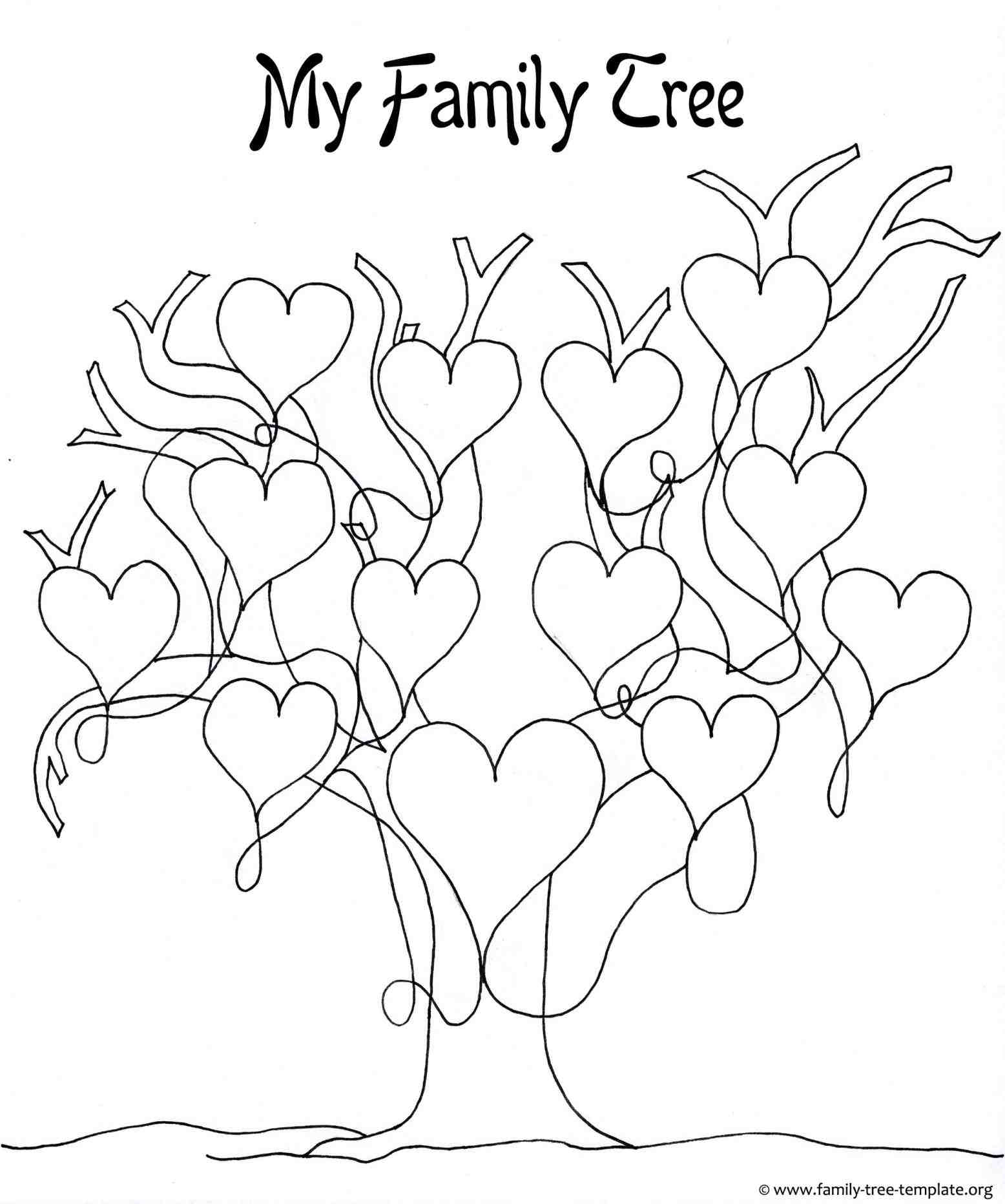 Tree Drawing For Kid at GetDrawings.com | Free for personal use Tree ...